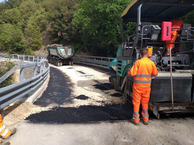 """Terminati i lavori del ponte sulla SP 31 di Giove. Lattanzi: """"Ritardi causati da vecchi decreti"""""""