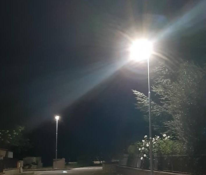 Guardea, rinnovato impianto pubblico illuminazione