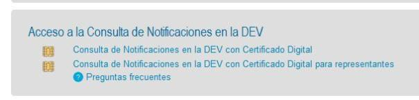 Requisitos para la DEV