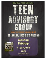 Teen Advisory Group Poster meeting-page-001