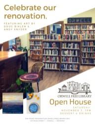 Celebrate our renovation.
