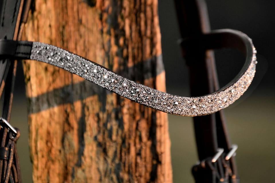 Stirnband Meldey crystal