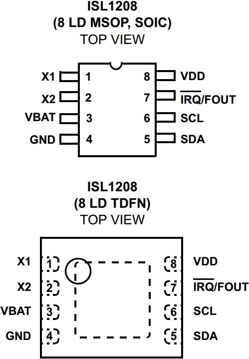 ISL1208 RTC DRIVER