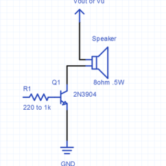 8 Ohm Speaker Wiring Diagrams Advance Ballast Kit Diagram Using A For Audio Output Mbed Driver Circuit Used Demos