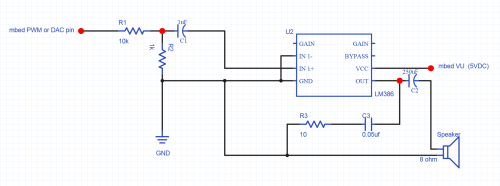 small resolution of lm386 audio amplifier circuit for small 8ohm 5w speaker a smaller value for r1 can be used to increase the volume
