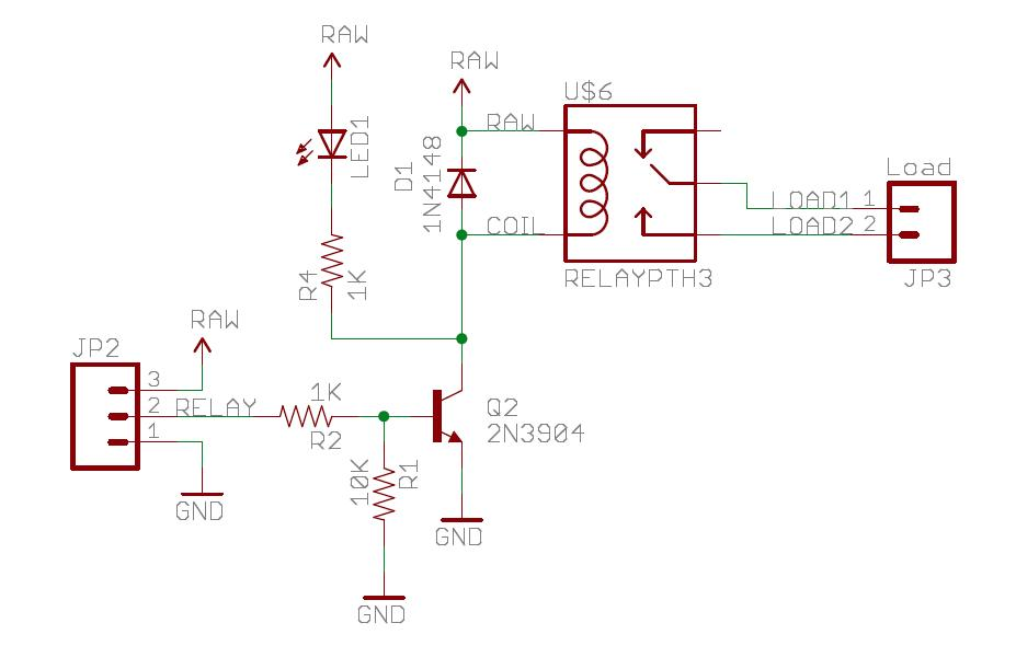 12v 5 pin relay wiring diagram eukaryotic plant cell drivers relays and solid state mbed rs sparkfun board schematic