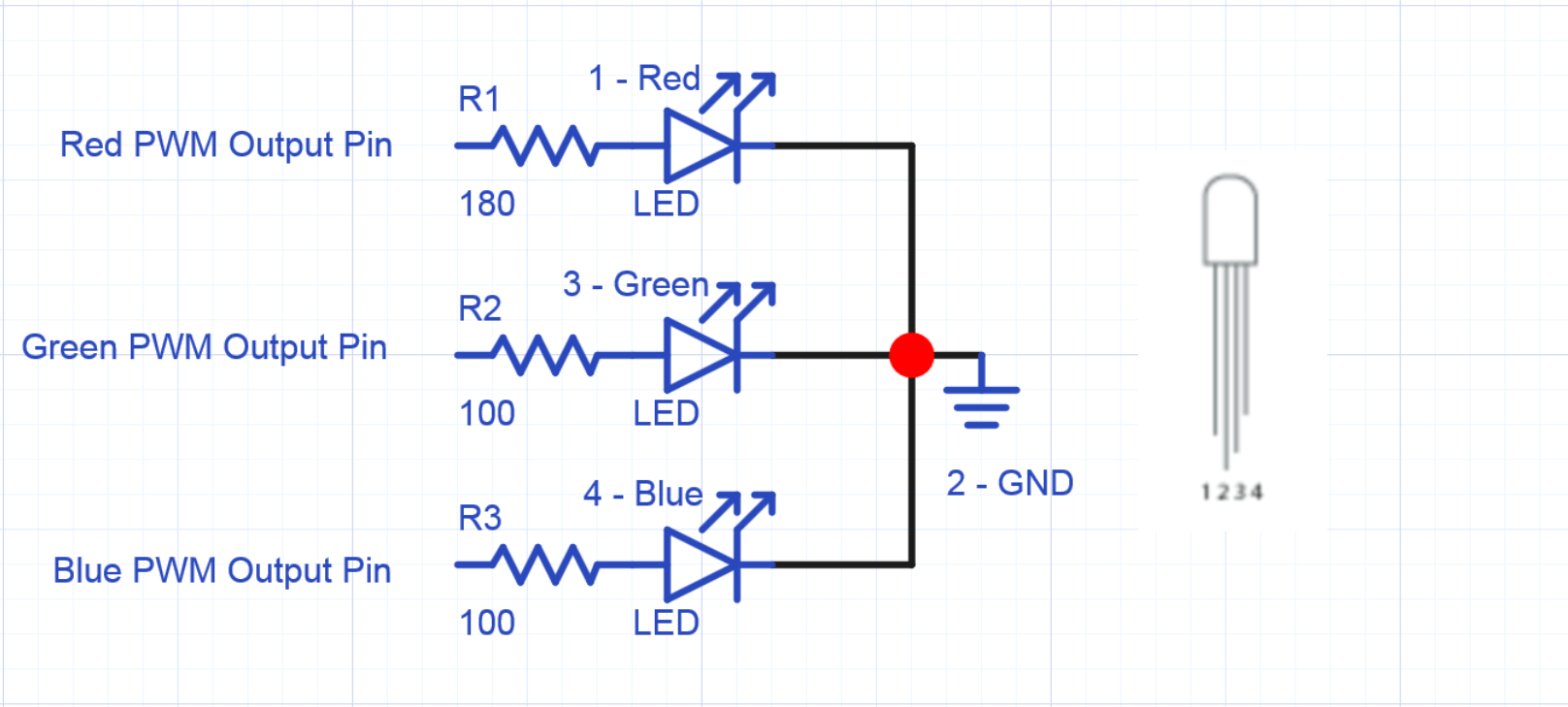 To One Switch Wiring Diagram 4 Lights