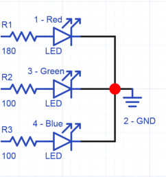 using rgb leds mbed led 4 pin wiring diagram 4 leg led wiring diagram [ 1616 x 729 Pixel ]