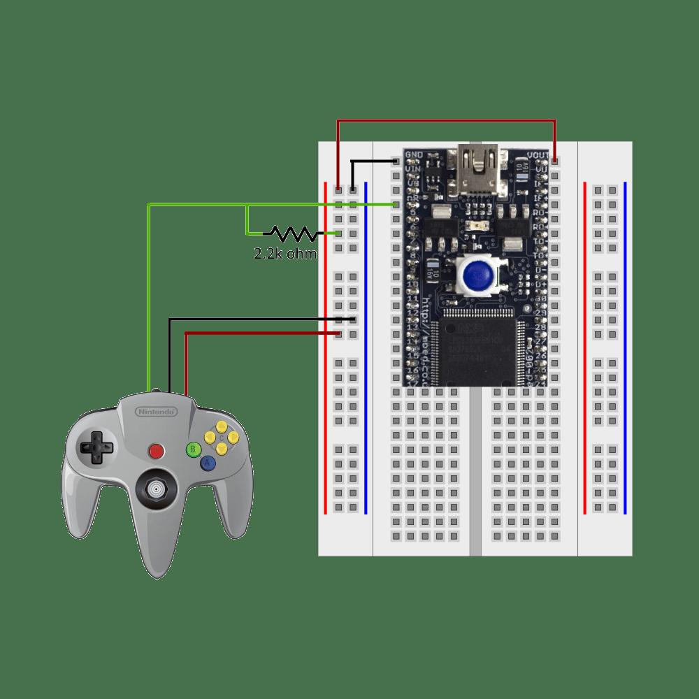medium resolution of nintendo controller wiring diagram