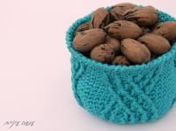 עושה עיניים - סלסלה סרוגה    OsaEinaim - crochet basket
