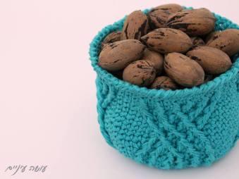 עושה עיניים - סלסלה סרוגה || OsaEinaim - crochet basket