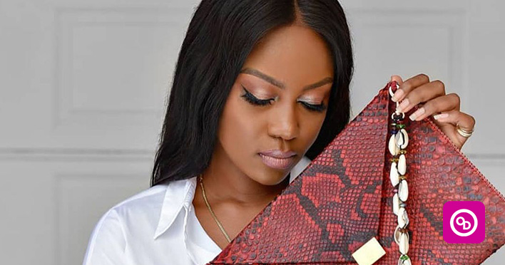 Yvonne Nelson has unveiled her first bag collection