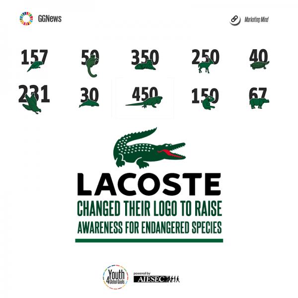 lacoste changes logo