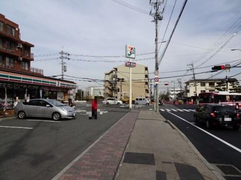 JR高槻駅から安満遺跡公園までの経路