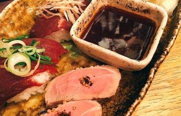 福島 加藤商店 バル肉寿司