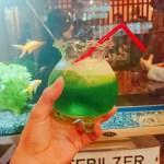 昭和町 カフェ 金魚カフェ