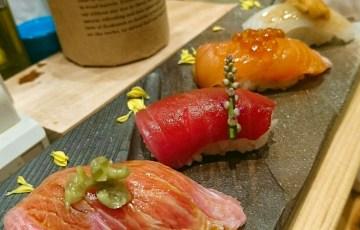 鮨バル ばんざい 難波 寿司