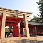Sumiyoshi Taisha ( Suniyoshi Shrine)