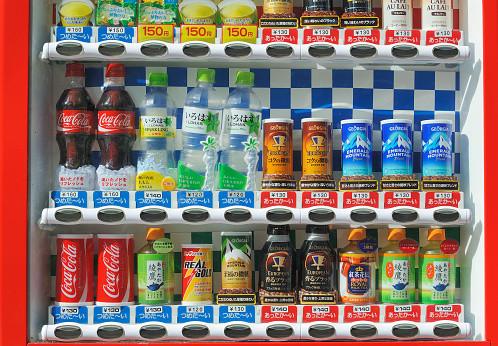 일본의 자동판매기