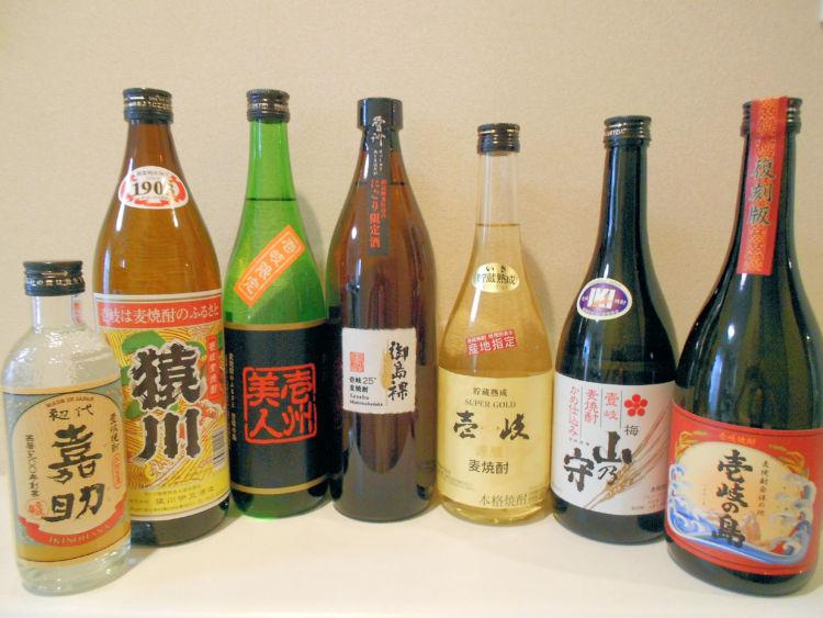 『日本酒』と『焼酎』の違いとは?