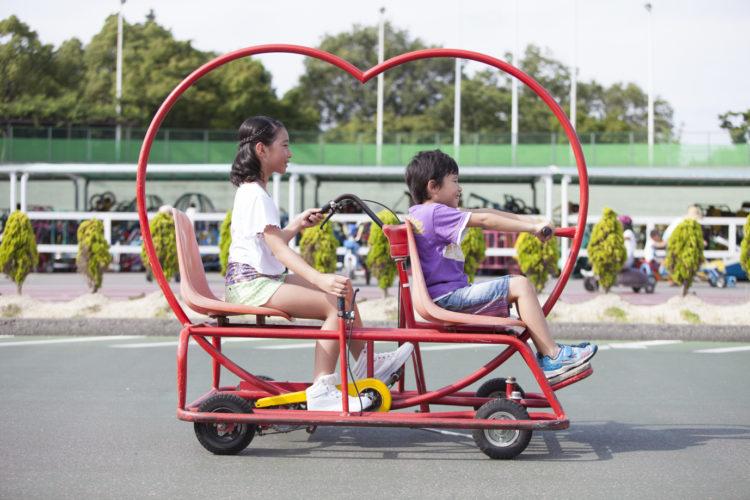 【大阪でサイクリング♪】変わった形の自転