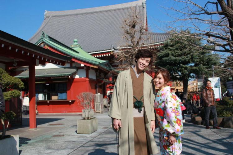 Rent a Kimono at Shi