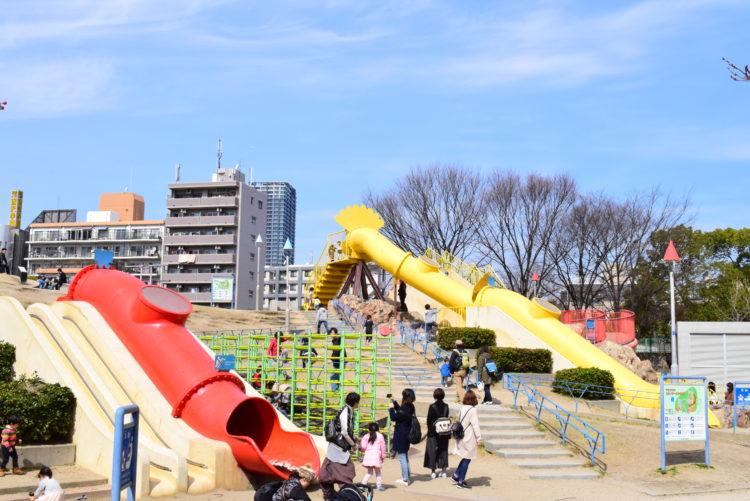 오기마치 공원 모습
