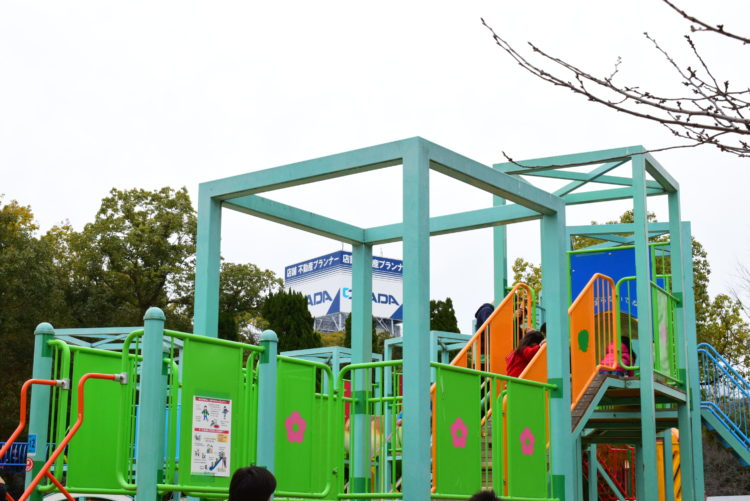 Osaka Castle playground equipment Square
