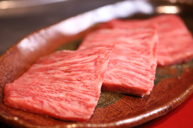 Picture of Wagyu beef lean meat