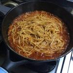 簡単コスパ良し!男の手抜き絶品トマトミートスパゲティ