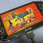 VITA版のPFBA: Portable Final Burn Alphaのレビュー