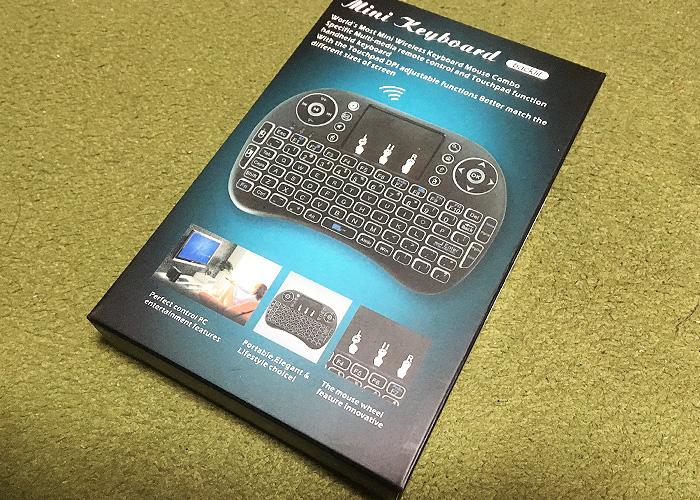 YAGALA ミニキーボード ワイヤレス タッチパッドの感想レビュー