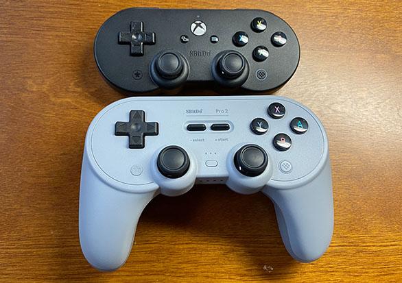 8bitdopro2,8bitdo,ワイヤレスコントローラー,無線コントローラー,bluetoothコントローラー,PCコントローラー,開封,感想,レビュー,商品レビュー,実機レビュー,