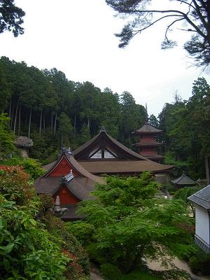 Chomeiji Temple in Omi-Hachiman
