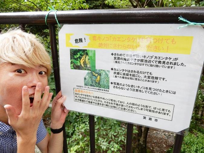 箕面の滝 (6)