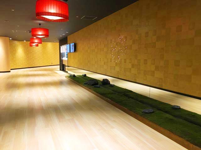 空庭温泉 OSAKA BAY TOWER,和の雰囲気の館内,