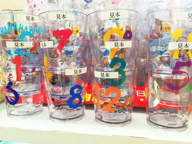 阪急うめだスヌーピーフェスティバル2016で販売されているクリアグラス