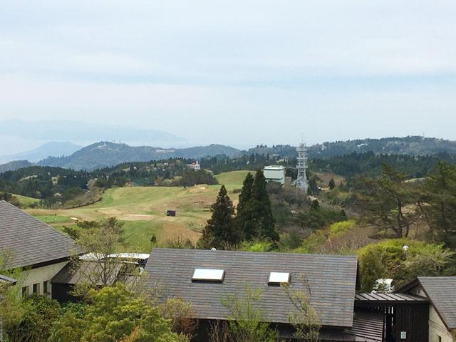 六甲ガーデンテラス,見晴らしの塔からの景色,