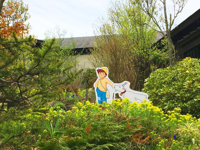 六甲山スイスフェア,アルプスの少女ハイジ,六甲ガーデンテラス,コッテージガーデン,ペーターとゆきちゃん,
