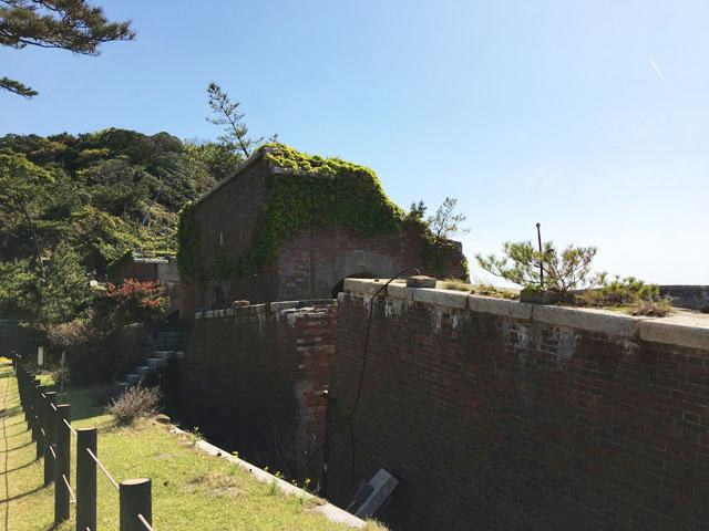 友ヶ島,沖ノ島,第2砲台,