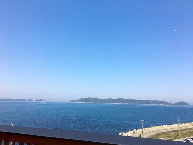 ひいなの湯,加太,淡島,露店風呂からの景色,