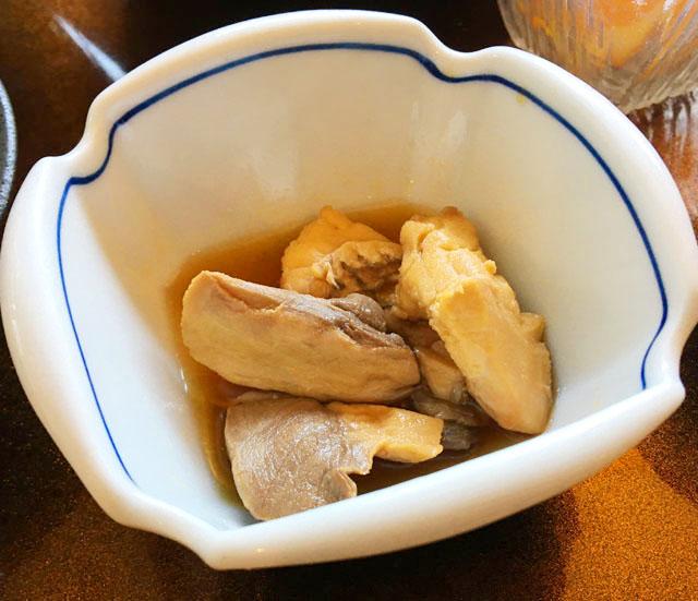 あくら御膳,小鉢,魚の煮つけ,ひいなの湯,加太,淡島,
