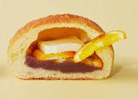 第8回 阪急パンフェア,阪急うめだ本店,2019,ブーランジェリー ココロ,オレンジとクリームチーズのあんぱん,