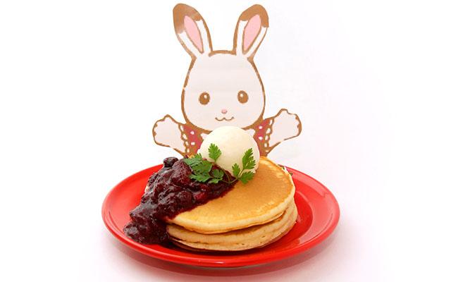 シルバニアファミリー展,阪急うめだ,ショコラウサギちゃんのベリーベリーパンケーキ,