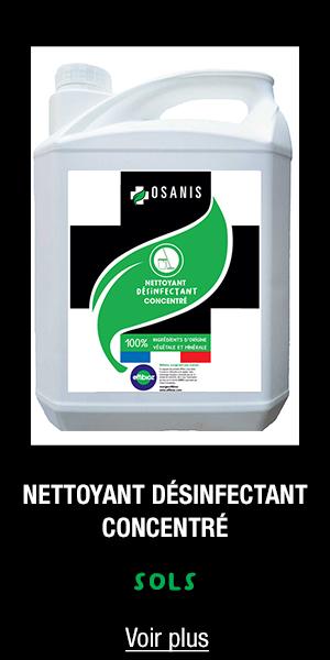 Nettoyant désinfectant concentré OSANIS 5l