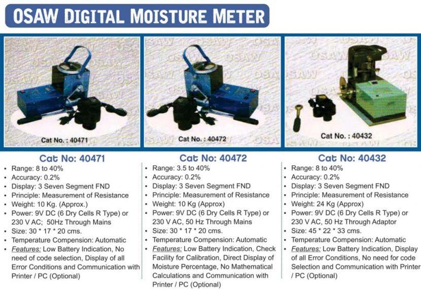 OSAW Moisture Meter