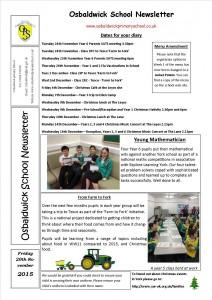Newsletter 20.11.15 2