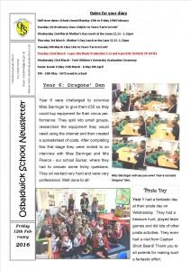 Newsletter 12.02.16