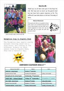 Newsletter 15.07.16 2