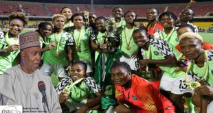 saraki LAUDS Super Falcons